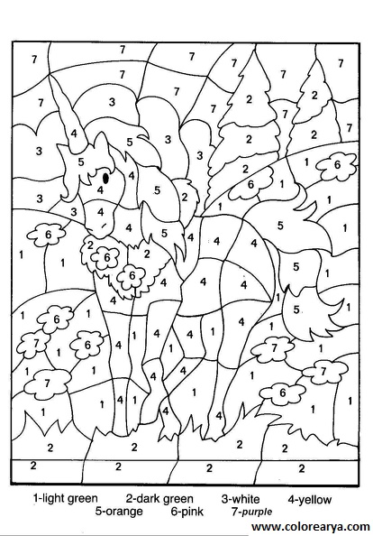 frozen coloring number pages - photo#1