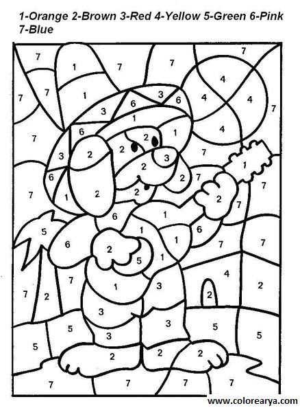 Number Bonds To 10 Worksheets as well Number 1 2 3 4 5 Coloring Pages ...