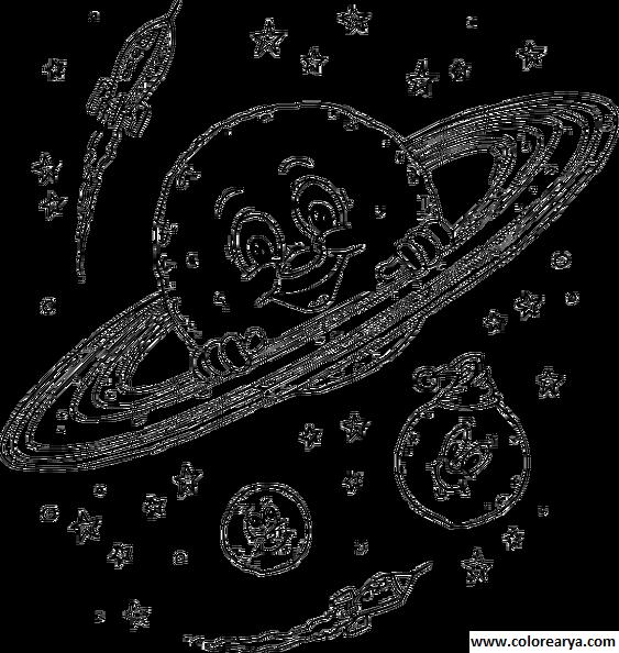 Dibujos del espacio para niños - Imagui