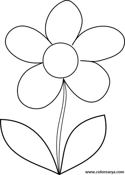 Caricatura De Flores Para Colorer Imagui