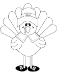 Thanksgiving Turkey Coloring Sheets Free Printable For Boys & Girls #2714.