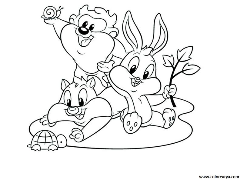 Dibujos De Looney Tunes Bebes Para Colorear picture gallery