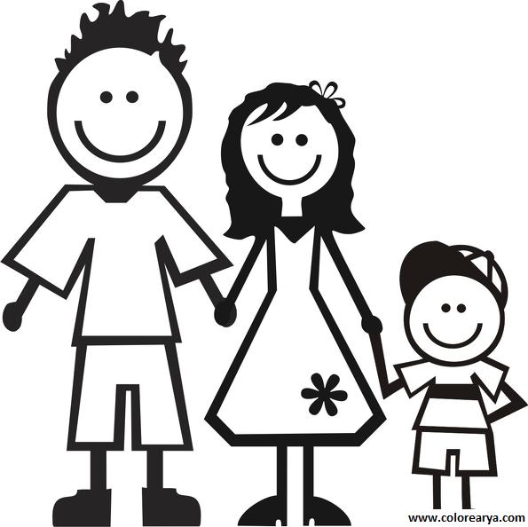 La familia dibujos para niños - Imagui