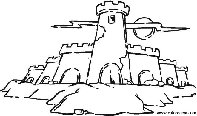 Castillo imagenes para colorear - Imagui