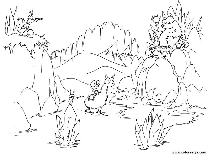 Dibujos sobre la naturaleza para niños - Imagui