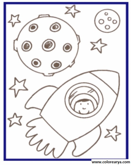 Dibujos de astronautas para niños - Imagui