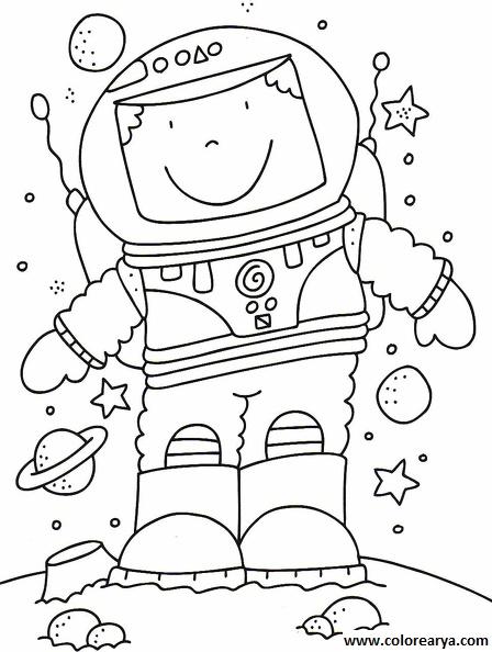 Dibujo Astronauta Para Nios. Cool Asignatura Medios Materiales Y Tic ...