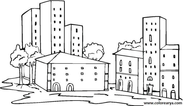 Dibujos De Edificios. . Cheap Dibujos De Figuras En Perspectiva Cmo ...