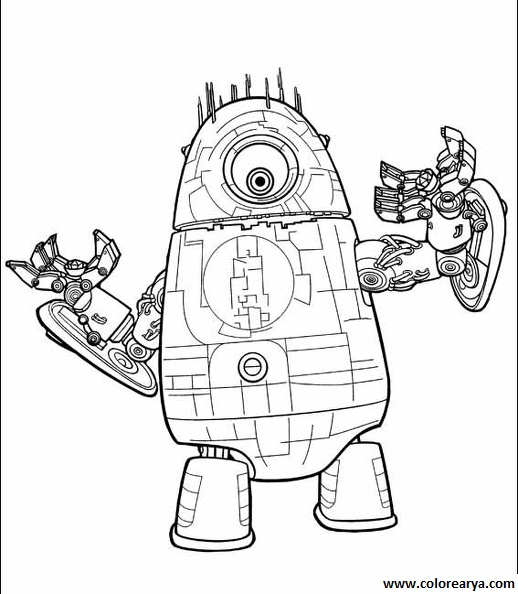 zeus real steel coloring pages | Real Steel Zeus Pages Coloring Pages