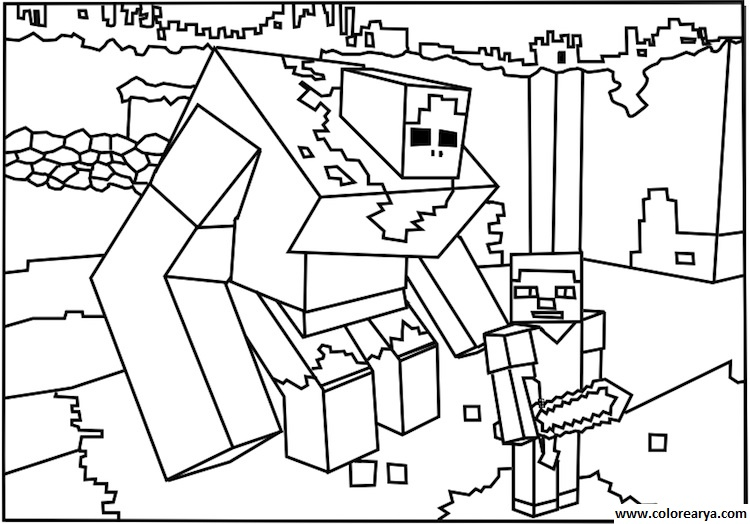 coloring pages minecraft stampylongnose halloween - photo#5