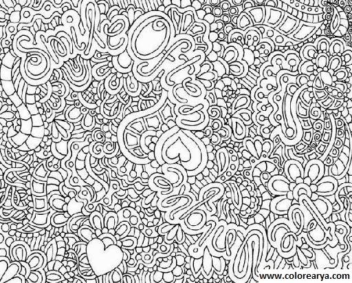 40 Imágenes Abstractas Para Descargar E Imprimir: Dibujos Para Colorear Y Pintar Para Los Niños