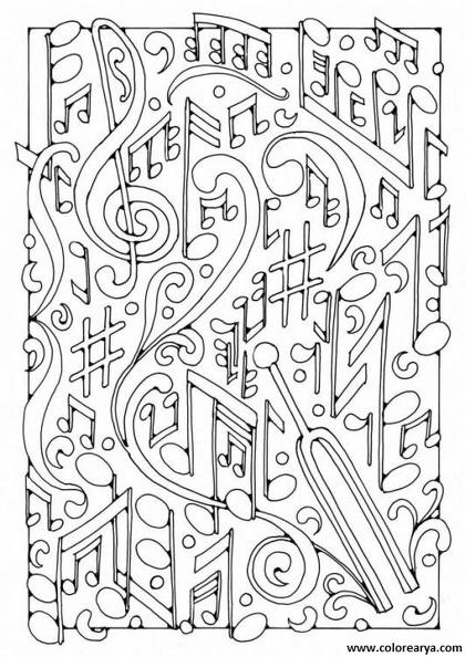 Hermosa Páginas Para Colorear Abstracto Simple Regalo - Ideas Para ...