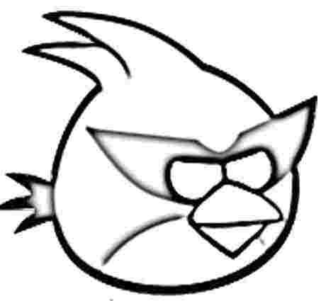 Colorear Angry Birds  11    Colorear Angry Birds  11