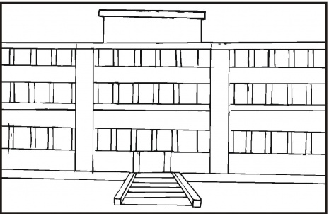 school building coloring pages - photo#32
