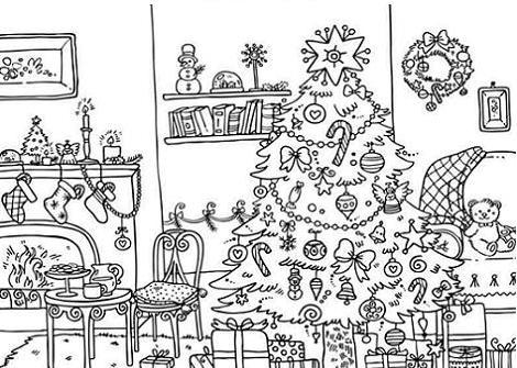 postales de navidad para nios